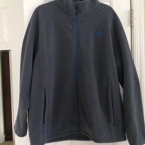 North Face Men's XL Zipper Fleece Sweat jacket.EUC